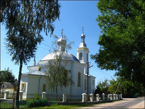 Pahost-Zaharodski. Orthodox church