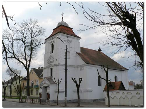 Pinsk. Catholic church