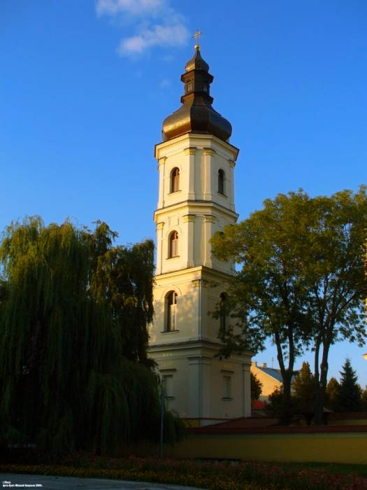 Pinsk. Catholic church of the Assumption of the Blessed Virgin Mary